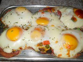 Снимка 5 от рецепта за Предястие със свинско филе и яйца