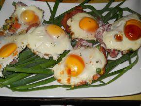 Снимка 6 от рецепта за Предястие със свинско филе и яйца