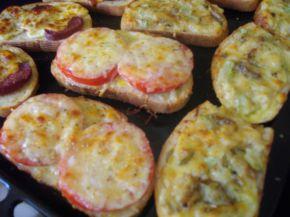 Снимка 2 от рецепта за Принцеси с домати и още нещо