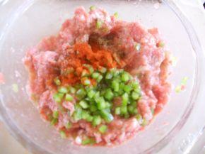 Снимка 4 от рецепта за Принцеси с шарена кайма