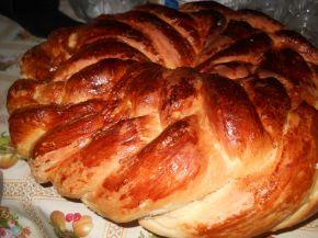 Снимка 4 от рецепта за Пухкава питка с кисело мляо