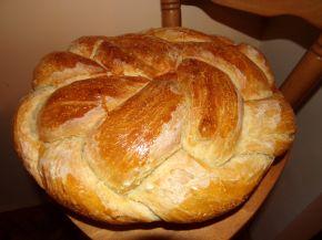 Снимка 5 от рецепта за Пухкава питка с кисело мляо