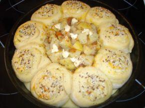 Снимка 2 от рецепта за Пълна кашкавалена пита