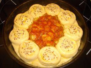 Снимка 3 от рецепта за Пълна кашкавалена пита