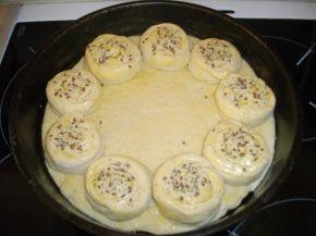 Снимка 4 от рецепта за Пълна кашкавалена пита