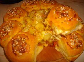 Снимка 6 от рецепта за Пълна кашкавалена пита