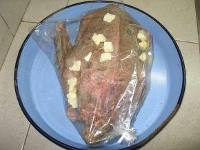 Снимка 3 от рецепта за Пълнена патица в плик