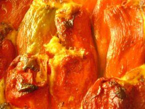 Снимка 5 от рецепта за Пълнени чушки с яйца и сирене