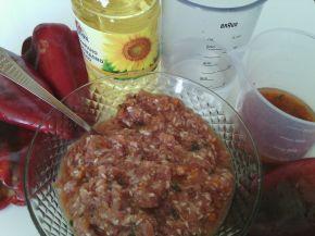 Снимка 8 от рецепта за Пълнени чушки с кайма и ориз - II вариант
