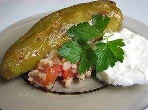 Снимка 1 от рецепта за Пълнени чушки с кайма и ориз