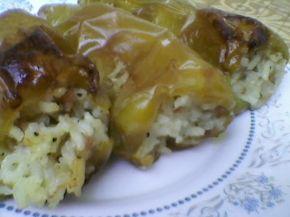 Снимка 5 от рецепта за Пълнени чушки с кайма и ориз