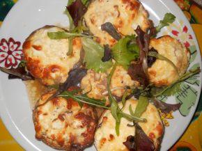 Снимка 6 от рецепта за Пълнени гъби със сирене и яйца