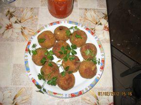 Снимка 2 от рецепта за Пълнени картофени кюфтета