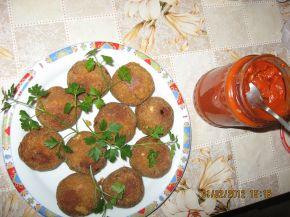 Снимка 3 от рецепта за Пълнени картофени кюфтета