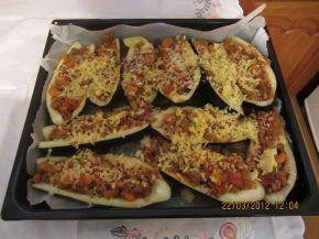 Снимка 2 от рецепта за Пълнени патладжани /Папуцаки-Гърция/