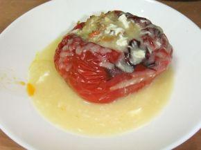 Снимка 9 от рецепта за Пълнени пиперки на фурна