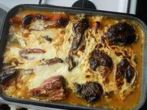 Снимка 4 от рецепта за Пълнени пиперки с кайма, розмарин и мащерка