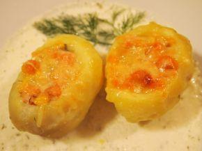 Снимка 2 от рецепта за Пълнени зеленчукови картофки