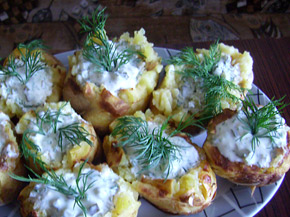 Снимка 2 от рецепта за Пълнено картофче