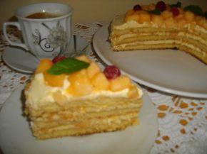Снимка 9 от рецепта за Пъпешова торта