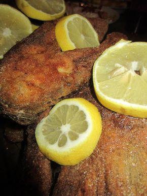 Снимка 4 от рецепта за Пържен  шаран