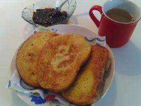 Снимка 4 от рецепта за Пържени филии по инък