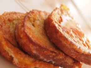 Снимка 2 от рецепта за Пържени филийки  с мед