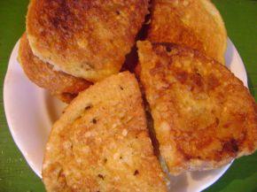 Снимка 3 от рецепта за Пържени филийки  с мед