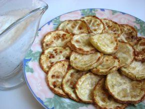 Снимка 2 от рецепта за Пържени тиквички