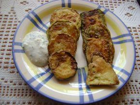 Снимка 6 от рецепта за Пържени тиквички