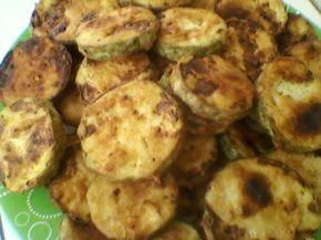 Снимка 7 от рецепта за Пържени тиквички