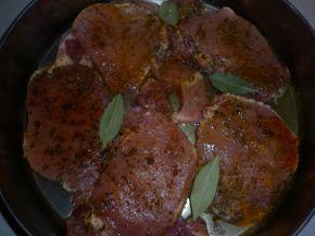 Снимка 3 от рецепта за Пържоли на фурна