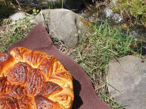 Снимка 2 от рецепта за Първомайска питка `Цвете`