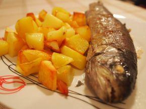Снимка 2 от рецепта за Пъстърва във фолио