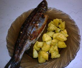 Снимка 4 от рецепта за Пъстърва във фолио
