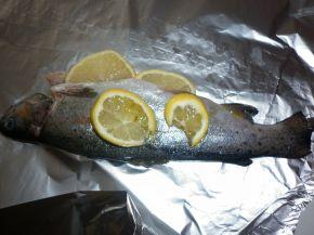 Снимка 6 от рецепта за Пъстърва във фолио
