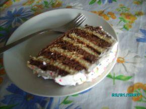 Снимка 4 от рецепта за Различна бисквитена торта