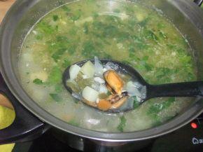 Снимка 6 от рецепта за Рибена чорба `Ники`