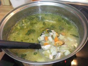 Снимка 7 от рецепта за Рибена чорба `Ники`