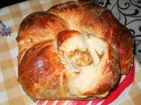 Снимка 2 от рецепта за Рогче с шарена сол