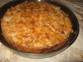 Снимка 2 от рецепта за Рошава баница с кокос, шоколад и орехи