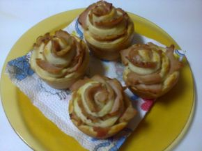 Снимка 4 от рецепта за Рози с шунка