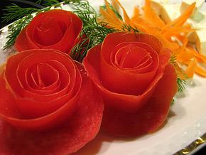 Снимка 1 от рецепта за Розички от домати