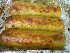 Снимка 2 от рецепта за Рулца от картофи с плънка
