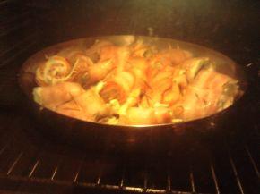 Снимка 2 от рецепта за Рулца с бекон и зеленчуци