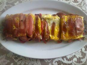 Снимка 2 от рецепта за Руло от кренвирши