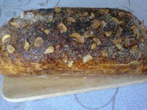 Снимка 2 от рецепта за Руло с орехи, сладко и лешници