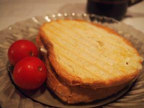 Снимка 3 от рецепта за Ръжен сандвич с мортадела