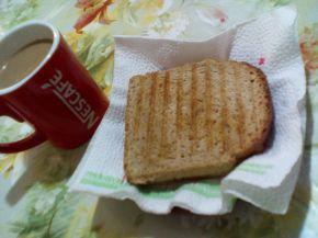 Снимка 5 от рецепта за Ръжен сандвич с мортадела