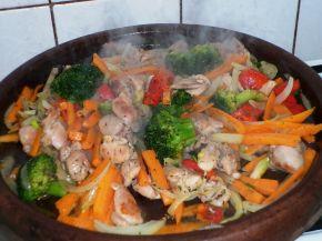 Снимка 4 от рецепта за Сач с пилешко месо